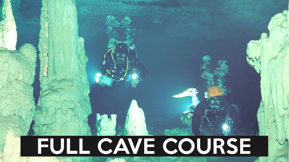 FULL CAVE COURSE